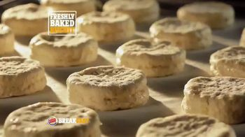 Burger King Sausage Biscuit TV Spot, 'Freshly Baked' - Thumbnail 3
