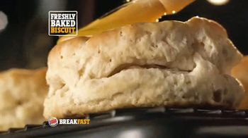 Burger King Sausage Biscuit TV Spot, 'Freshly Baked' - Thumbnail 4