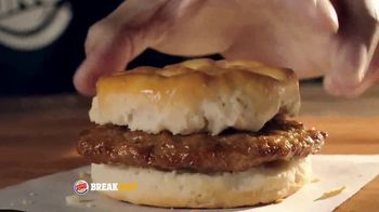 Burger King Sausage Biscuit TV Spot, 'Freshly Baked' - Thumbnail 8