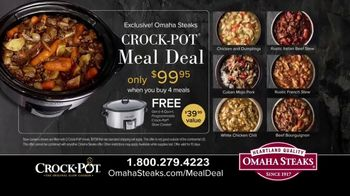 Omaha Steaks Crock-Pot Meal Deal TV Spot, 'Simplify' - Thumbnail 9