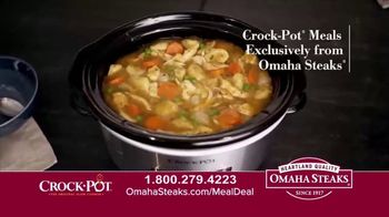 Omaha Steaks Crock-Pot Meal Deal TV Spot, 'Simplify' - Thumbnail 1
