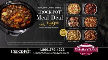 Omaha Steaks Crock-Pot Meal Deal TV Spot, 'Simplify' - Thumbnail 5