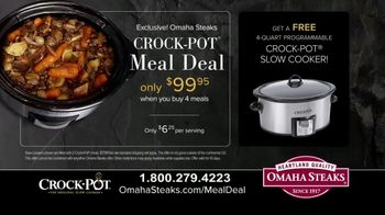 Omaha Steaks Crock-Pot Meal Deal TV Spot, 'Simplify' - Thumbnail 6