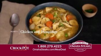 Omaha Steaks Crock-Pot Meal Deal TV Spot, 'Simplify' - Thumbnail 7