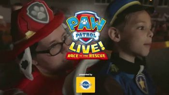 PAW Patrol Live! TV Spot, '2018 Race to the Rescue & Pirate Adventure'