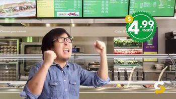 Subway $4.99 Footlong TV Spot, 'Price Is Right' - Thumbnail 6