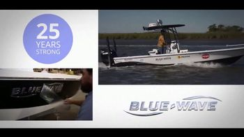 Blue-Wave Boats 2800 Pure Hybrid TV Spot, 'Conquer the Bay' - Thumbnail 1