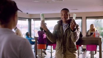 Dunkin' Donuts Egg & Cheese Wake-Up Wrap TV Spot, 'High Fives' - 405 commercial airings