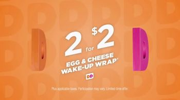 Dunkin' Donuts Egg & Cheese Wake-Up Wrap TV Spot, 'High Fives' - Thumbnail 9