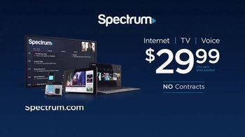 Spectrum Internet, TV and Voice TV Spot, 'The Ultimate Triple Play' - Thumbnail 7