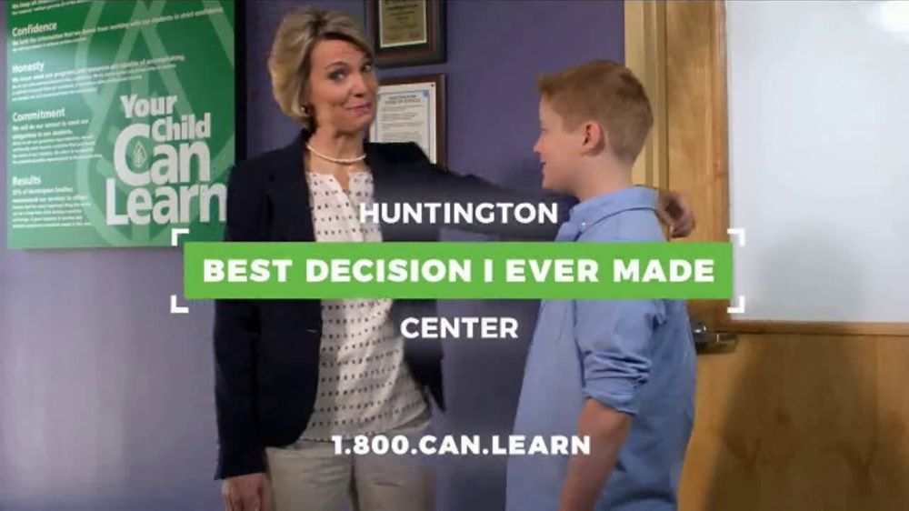 Huntington Learning Center TV Commercial, 'The Best Decision: Save $50'