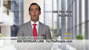 Morgan and Morgan Law Firm TV Spot, 'On the Job Injuries' - Thumbnail 1