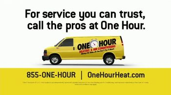 One Hour Heating & Air Conditioning TV Spot, 'Comfortable' - Thumbnail 9