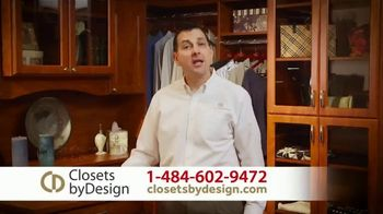 Closets by Design TV Spot, 'Custom Home Storage Needs' - Thumbnail 1