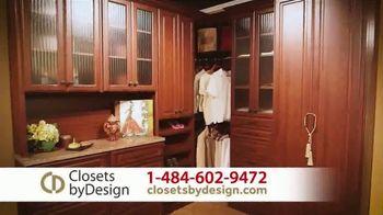 Closets by Design TV Spot, 'Custom Home Storage Needs' - Thumbnail 4