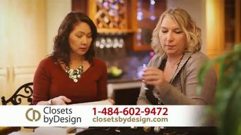 Closets by Design TV Spot, 'Custom Home Storage Needs' - Thumbnail 7