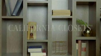 California Closets Winter White Event TV Spot, 'Italian-Inspired Woodgrain' - Thumbnail 1