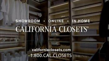 California Closets Winter White Event TV Spot, 'Italian-Inspired Woodgrain' - Thumbnail 10
