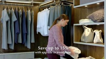 California Closets Winter White Event TV Spot, 'Italian-Inspired Woodgrain'