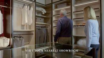 California Closets Winter White Event TV Spot, 'Italian-Inspired Woodgrain' - Thumbnail 4