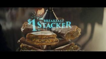 Taco Bell $1 Breakfast Stacker TV Spot, 'Belluminati: Morning Order' - Thumbnail 7