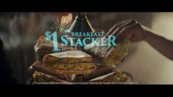 Taco Bell $1 Breakfast Stacker TV Spot, 'Belluminati: Morning Order' - Thumbnail 8