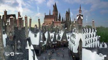 USA Network Universal Parks Sweepstakes TV Spot, 'Wizarding World' - Thumbnail 1