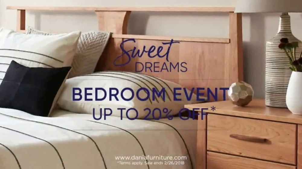 Dania Sweet Dreams Bedroom Event TV Commercial Refresh Your Space Video