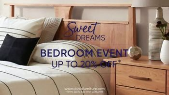 Dania Sweet Dreams Bedroom Event TV Spot, 'Refresh Your Space' - Thumbnail 4