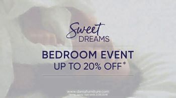 Dania Sweet Dreams Bedroom Event TV Spot, 'Refresh Your Space' - Thumbnail 9