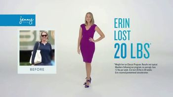 Jenny Craig Rapid Results TV Spot, 'Erin: $100 in Free Food' - Thumbnail 1