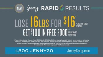 Jenny Craig Rapid Results TV Spot, 'Erin: $100 in Free Food' - Thumbnail 10