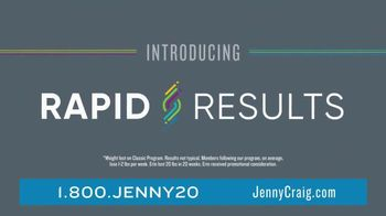 Jenny Craig Rapid Results TV Spot, 'Erin: $100 in Free Food' - Thumbnail 3