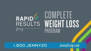 Jenny Craig Rapid Results TV Spot, 'Erin: $100 in Free Food' - Thumbnail 5