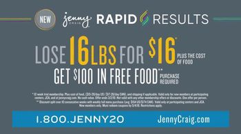 Jenny Craig Rapid Results TV Spot, 'Erin: $100 in Free Food' - Thumbnail 8
