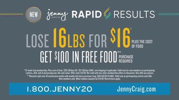 Jenny Craig Rapid Results TV Spot, 'Erin: $100 in Free Food' - Thumbnail 9