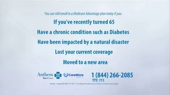Anthem Blue Cross Medicare Advantage Plan TV Spot, 'Special Election' - Thumbnail 3