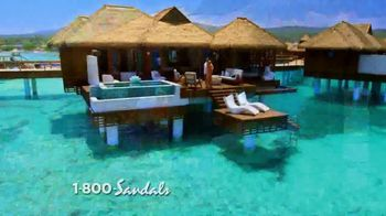 Sandals Resorts TV Spot, 'Over-the-Water Villas: Far From Ordinary' - 367 commercial airings