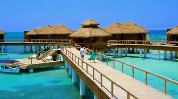 Sandals Resorts TV Spot, 'Over-the-Water Villas: Far From Ordinary' - Thumbnail 1