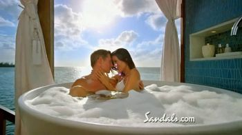 Sandals Resorts TV Spot, 'Over-the-Water Villas: Far From Ordinary' - Thumbnail 5