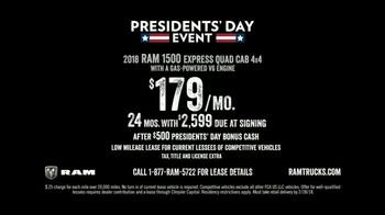Ram Presidents Day Event TV Spot, 'Long Live Passion: Best-in-Class' [T2] - Thumbnail 10