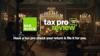H&R Block Tax Pro Review TV Spot, 'Nice' Featuring Jon Hamm - Thumbnail 9