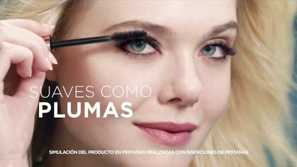 L'Oreal Paris Lash Paradise TV Commercial, 'Plumas' con Elle Fanning