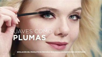 L'Oreal Paris Lash Paradise TV Spot, 'Plumas' con Elle Fanning [Spanish] - 1161 commercial airings