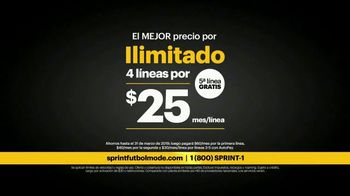 Sprint Fútbol Mode TV Spot, 'Solo Sprint te pone en Fútbol Mode' [Spanish] - Thumbnail 5