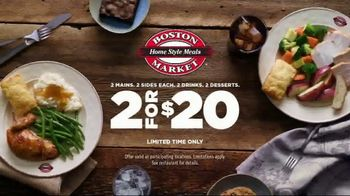 Boston Market 2 for $20 TV Spot, 'A Table for Two' - Thumbnail 9