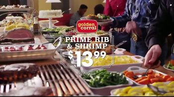 Golden Corral Prime Rib & Shrimp Spectacular TV Spot, 'Saddle Up' - Thumbnail 6
