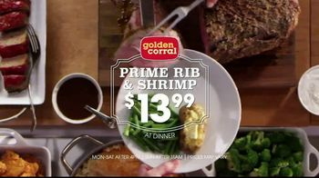Golden Corral Prime Rib & Shrimp Spectacular TV Spot, 'Saddle Up' - Thumbnail 8