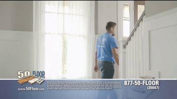50 Floor 60 Percent Off Sale TV Spot, 'Tired Floors' Featuring Richard Karn - Thumbnail 5