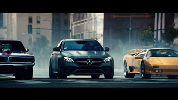 2018 Mercedes-Benz AMG E63 S Super Bowl 2018 TV Spot, 'Off the Line' [T1] - Thumbnail 2